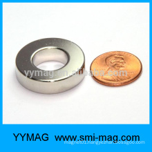 High quality nicuni coating n45 magnet ring