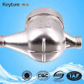 Medidor de água de aço inoxidável do tipo seco multijato