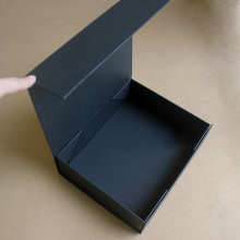 Handmade Black Folding Gift box with Magnetic Lid