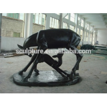 Modern Arts Love Animal statue outdoor Decoration fiberglass sculpture