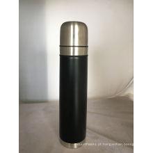 750ml garrafa de vácuo de aço inoxidável de parede dupla, bala Bullet