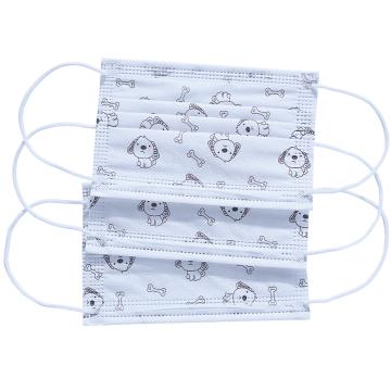 Disposable Medical Children's Surgical Mask Earloop Design