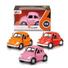 1: 38 Schöne Zurückziehen Die Cast Car mit Licht (10251035)