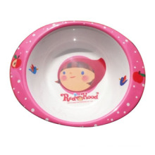 Melamine Kid′s Tableware/Salad Bowl with Handle/Melamine Tableware (MRH12001)