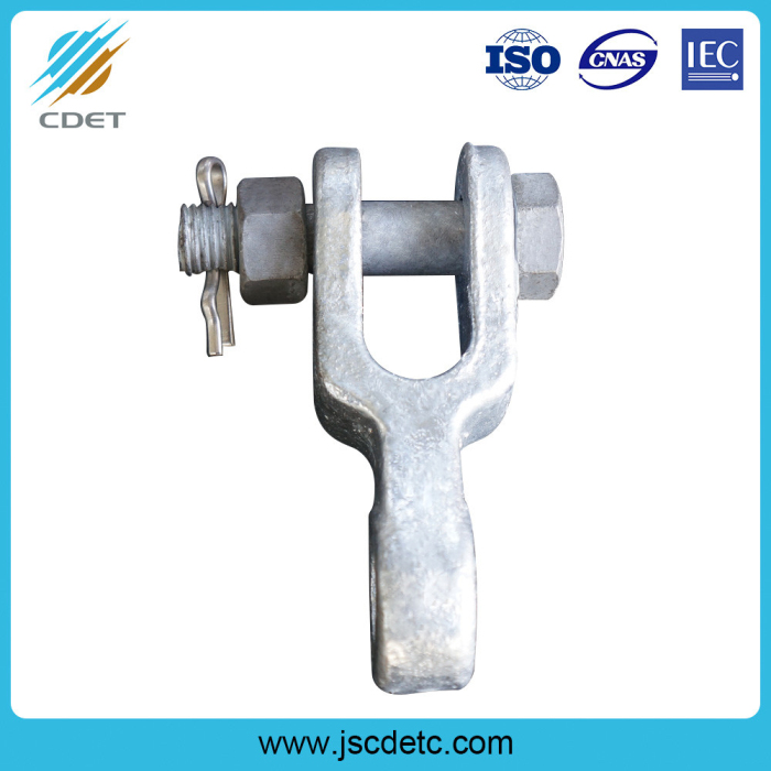 Hot-dip Galvanized Hanging Tongue Clevis Hinge
