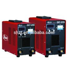 Hutai china supplier: Inverter DC MMA máquina de soldadura de arco de máquinas de plástico ZX7-315