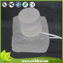 Plancher de danse de la brique IP65-68 LED avec 10 * 20 * 5cm, pavé en verre