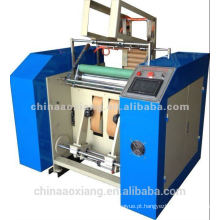 Máquina dobro do rebobinamento da folha de alumínio