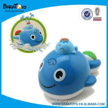 Água de pulverização baleia de brinquedo de plástico para o bebê