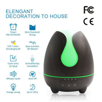 Humidificador piezoeléctrico grande ultrasónico del transductor 500ml