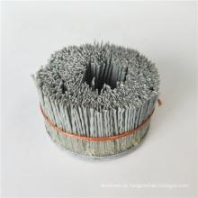 Escova personalizada com todas as cerdas Escova de disco industrial para rebarbação, polimento, arame abrasivo