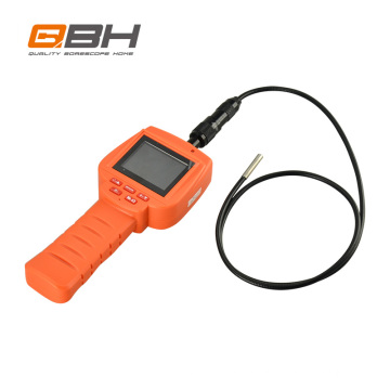 orange color micro HD lens auto repair application handheld inspection camera