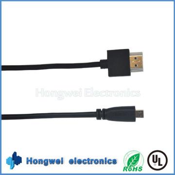 High Speed Flat HDMI Kabel mit Am zu Dm 1080P Kabel