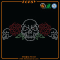 Colorful Skull rhinestone design patterns