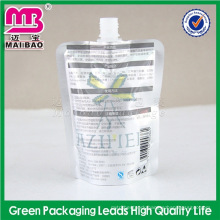 best standard oem service fresh milk packaging with spout