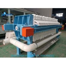 Dewatering of ceramic sludge filter press