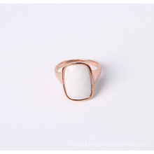 Fashion Jewelry Ring with White Stone in Good Quality and Good Price