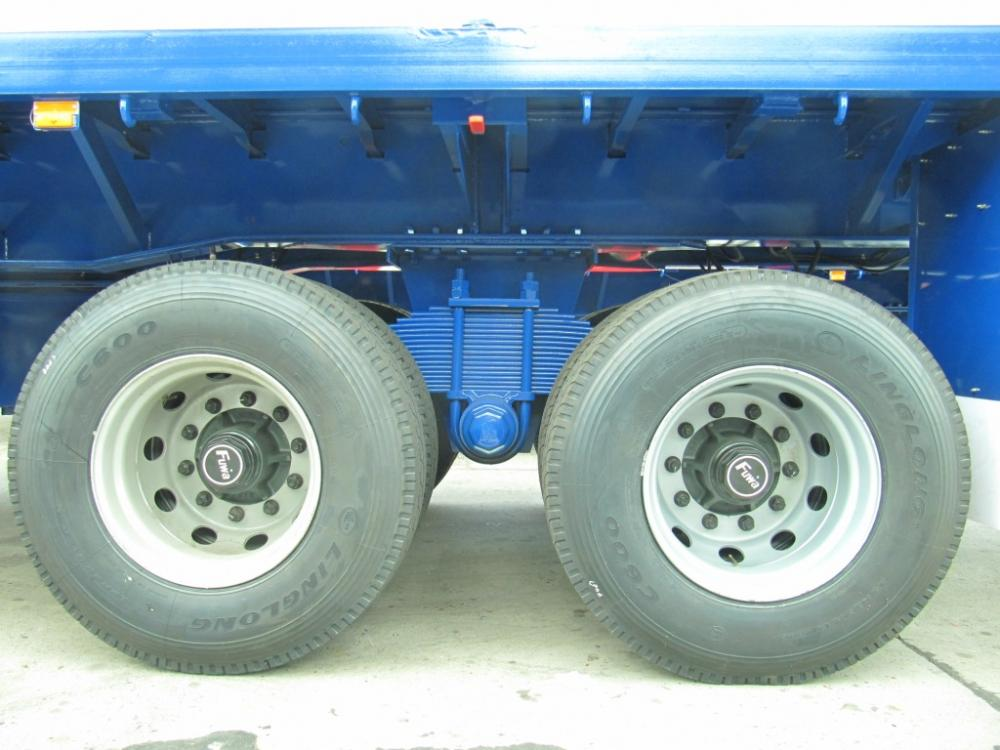 Boggie 40 Two Axle Flatbed Semi Trailer