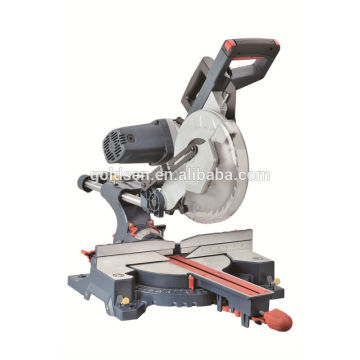 """255mm 2000W Power Wood Cutting Table Circular Saw Electric Belt-driven Miter Saw 10"""" Double Bevel Sliding Miter Saw GW8089"""