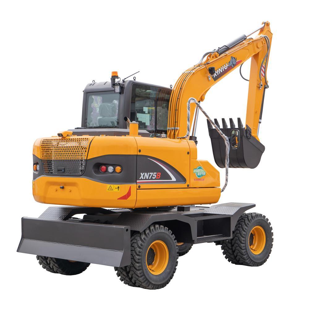6 Ton Wheel Excavator Xn75b 4