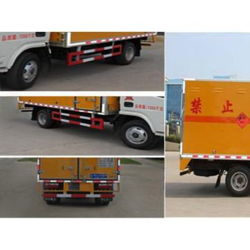 Dongfeng Blasting Equipment Transport Van Truck