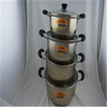 ChaoZhou Edelstahl koreanische Suppe Topf Kit