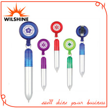 Plastic Novelty Pen with Badge Holder for Promotion (DP607)
