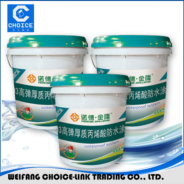 one component water based waterproofing paint