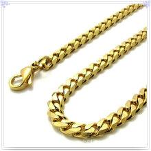 Moda jóias colar de aço inoxidável cadeia (sh021)