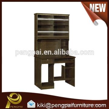 Antique wood computer desk design