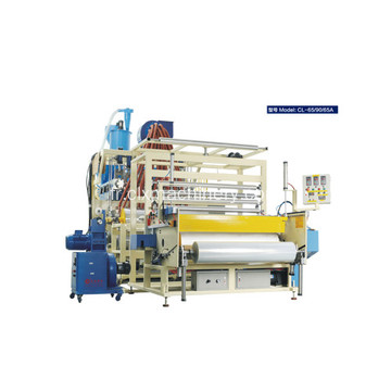 Machine de traction extensible LLDPE de 1000 mm