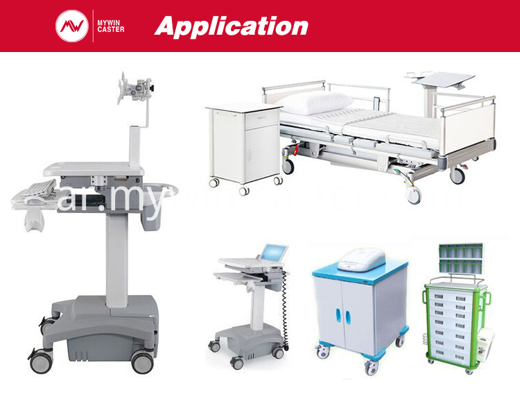 medical appliance caster