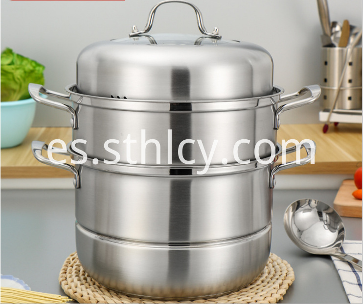 Stainless Steel Steamer Pot