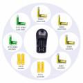 8126 Standard extern für 1,2 V Ni-MH- und Ni-CD-Batterie OEM verfügbar