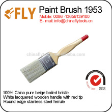 hot selling natural boiled bristle paint brush