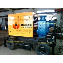 Pompe de transfert d'eau de dragage mobile