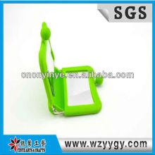 Popular nova concepção do silicone espelho cosmético da fábrica