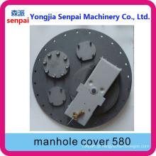 Senpai Maquinaria Tanque Acessório API 580mm 58cm Alloy Manhole Cover