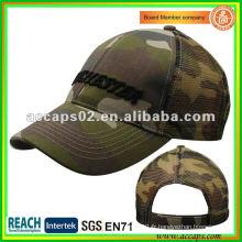 Chapeau de baseball en maille brodée BC-0106