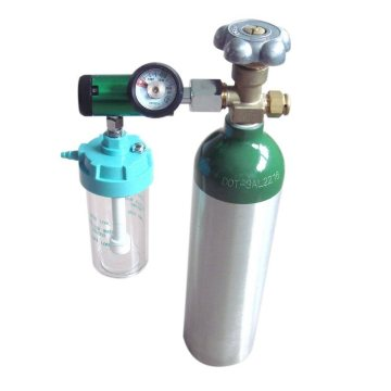 Medical Gas Oxygen Flowmeter with Humidifier Bottle