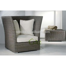 SL-(43) wicker rattan outdoor furniture high back sofa chair