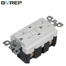 Customized 20A 125V electrical gfci socket outlet