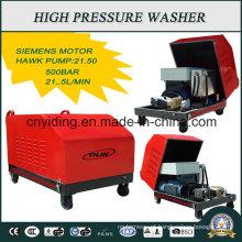 Lavadora de super-alta pressão de serviço da indústria de bombas Hawk 500 Bar (HPW-DC5022C)