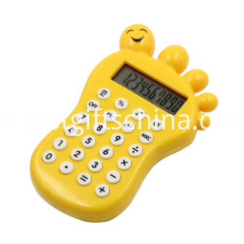 Promotional Cartoon Baby Foot Shaped Calculator_1