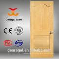 Portas de persiana brancas de madeira maciça