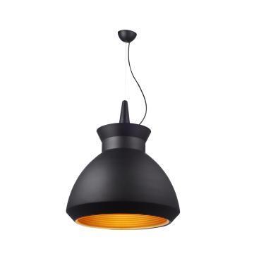 Black Cover Aluminum Pendant Lighting with CE L6424-φ500