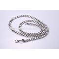 La joyería al por mayor de la cadena del collar del acero inoxidable de la manera libera la muestra BSL001