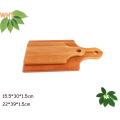Pequeno, grande, tamanho, cozinha, madeira, corte, tábua