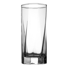 Polygonal household glass cups