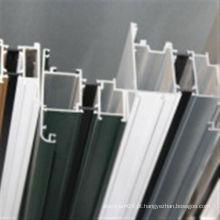 Perfil de extrusão de alumínio 6063